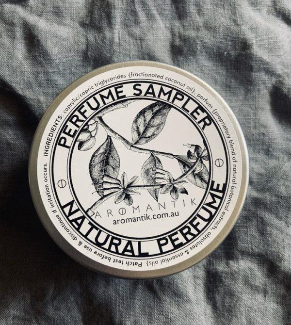 Natural Perfume Samplers