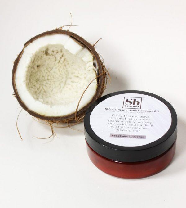 100% Organic RAW Coconut Oil