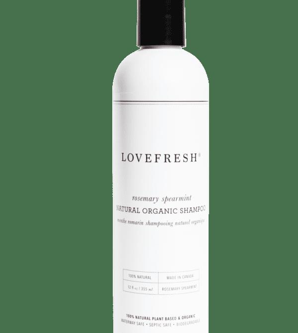 Rosemary Spearmint  Organic Shampoo
