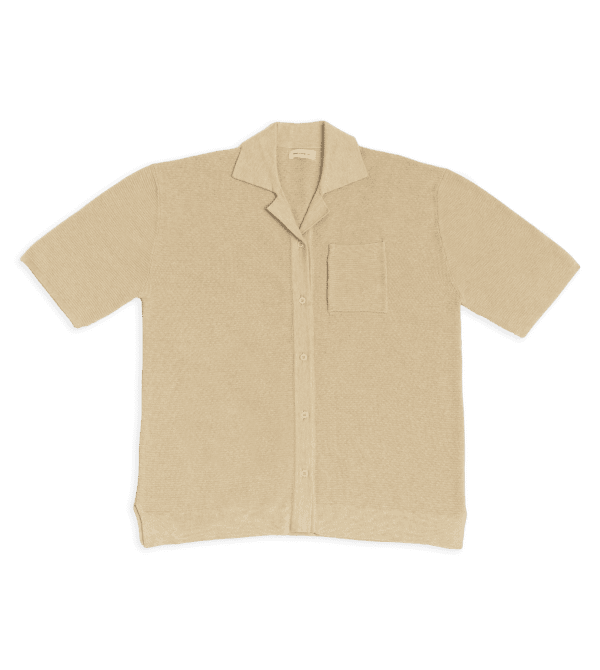 Waffle Button Up – Sample Sale