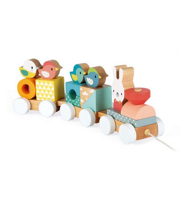 Janod Toys Pure Train