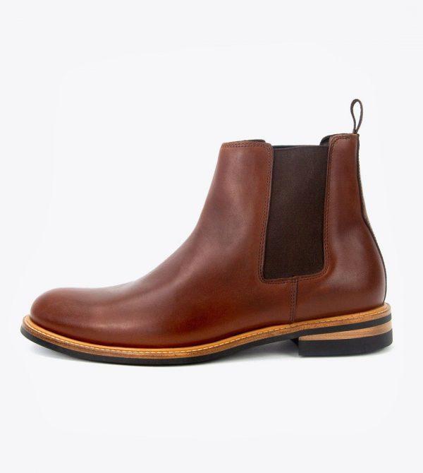 Javier Chelsea Boot Brandy
