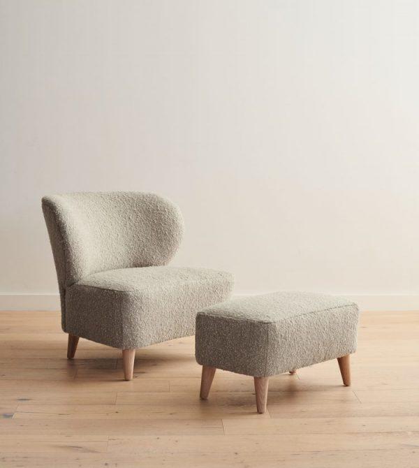 Brentwood Boucle Chair- Jennikayne
