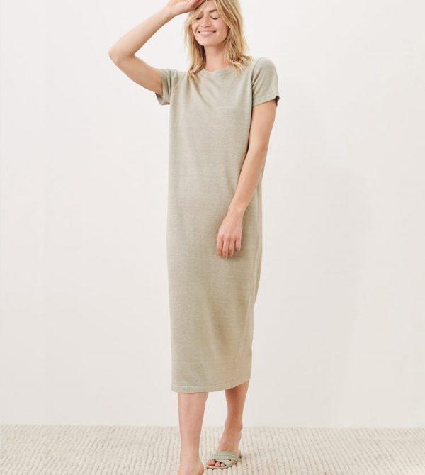 Linen T-Shirt Dress – Willow | Jenni Kayne