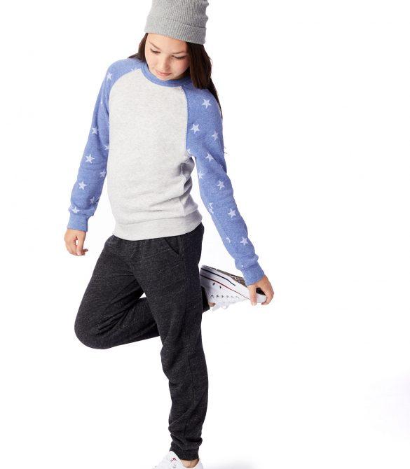 Champ Printed Eco-Fleece Youth Sweatshirt