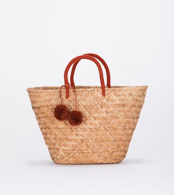 Straw Beach Bag | Kayu
