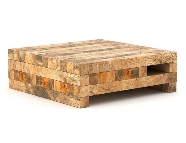 Koper Reclaimed Wood Coffee Table