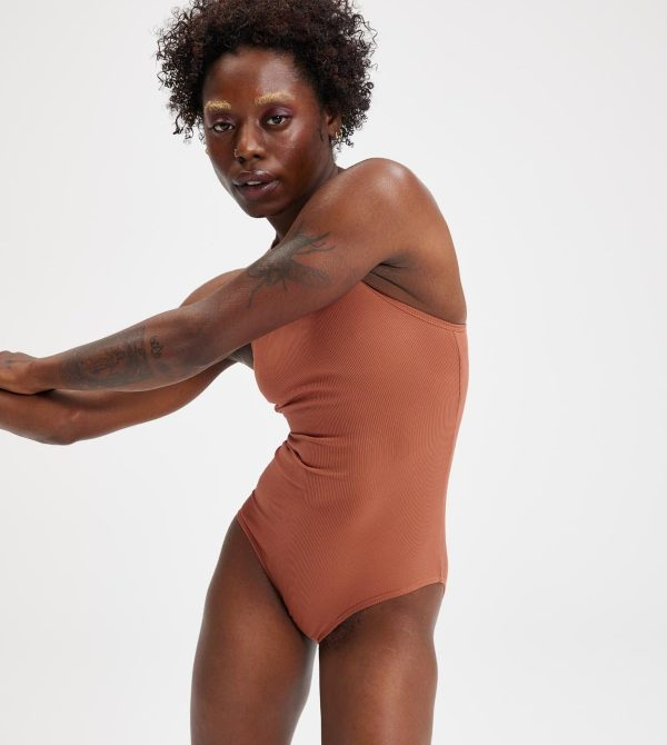 Copper Marlow High Neck Bodysuit