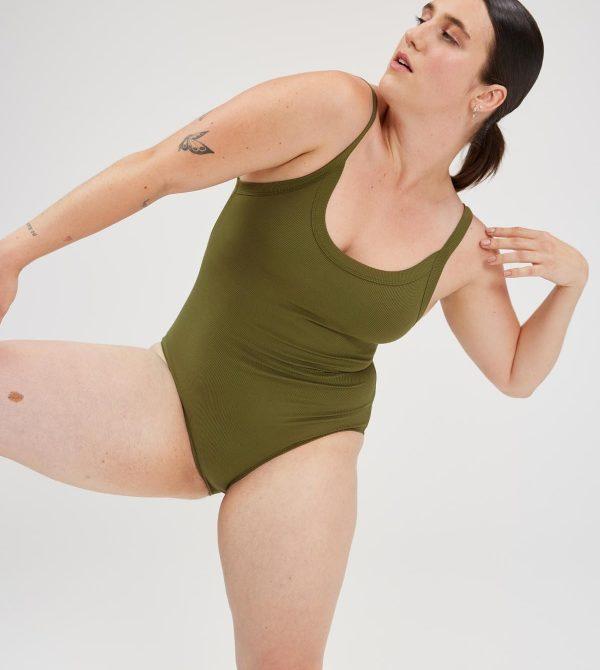 Fern Coco Scoop Bodysuit