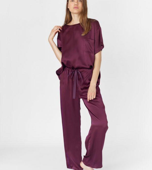 Ally Pajama Pant Mulberry
