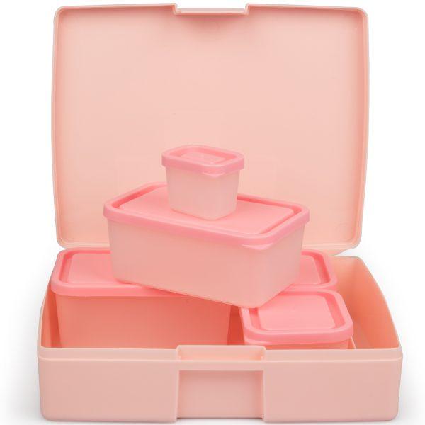 Classic 6 Pc. Set – Pink – Bentology