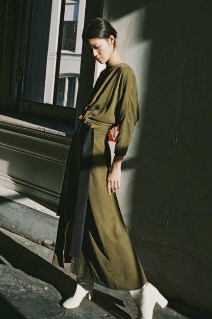 LEYS DRESS | OLIVE