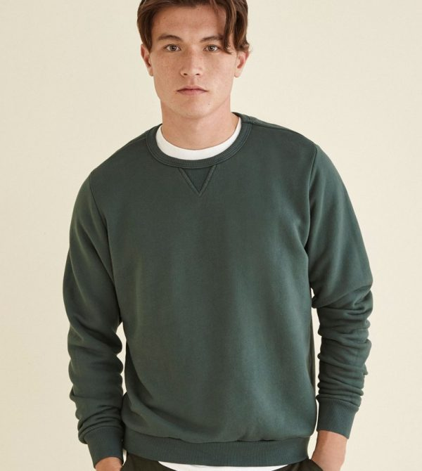 Sutro Crewneck Sweatshirt (Forest Green)