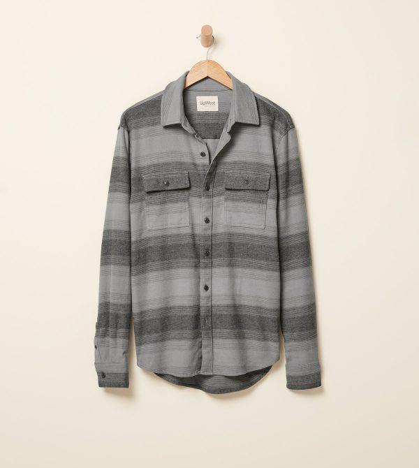 Canyon Stripe Flannel