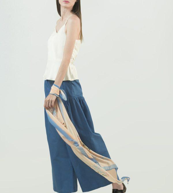 Wide Legged Organic Cotton Pant