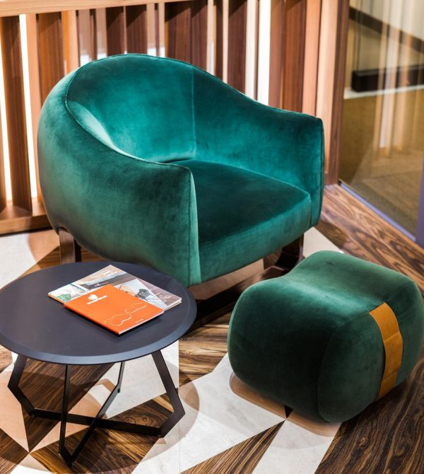 Marie Burgos Milo Armchair, Moss Green, 31″x32″ | Accent Furniture – 54kibo