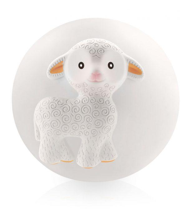 Mia the Lamb Teething Ball « CaaOcho Toys and Teethers