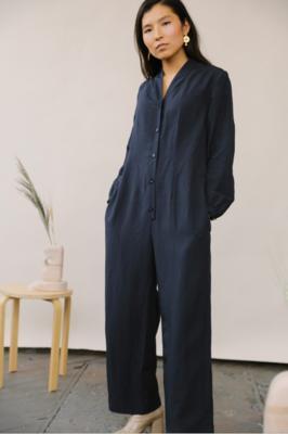 Mina Jumpsuit Indigo