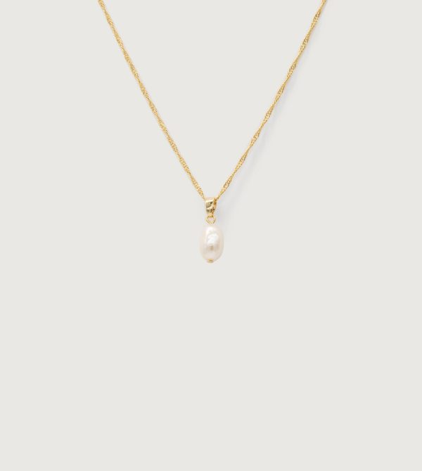 PEARL PENDANT NECKLACE $22