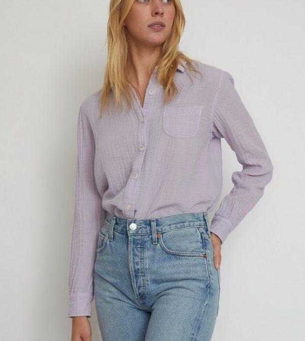 No.6 Patrick Shirt in Lilac