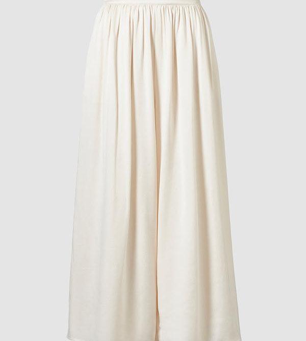 Nola Sand-wash Silk Trouser · TOVE Studio  · Advanced Contemporary Womenswear Brand