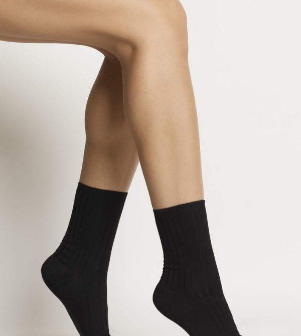 ORGANIC COTTON SOCKS- black