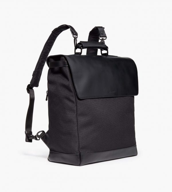 The Prospect – 1200D Recycled Poly – Black / Black / Grey Wave