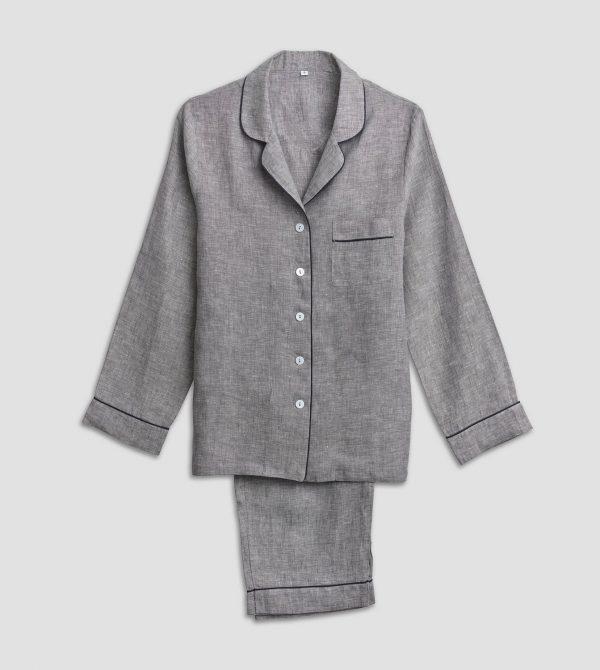 Linen Pajama Trouser Set