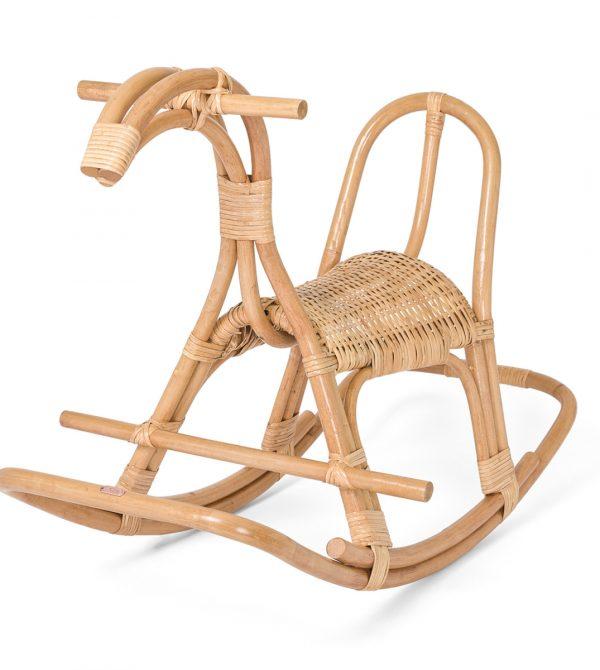 Poppie Toys Rattan Poppie Rocking Horse