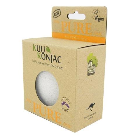 New!! Konjac Pure Exfoliating Sponge