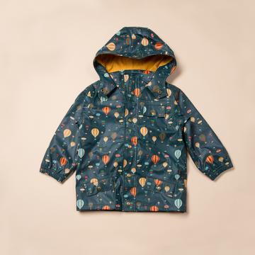 Higher Ground Waterproof Lined Recycled Raincoat
