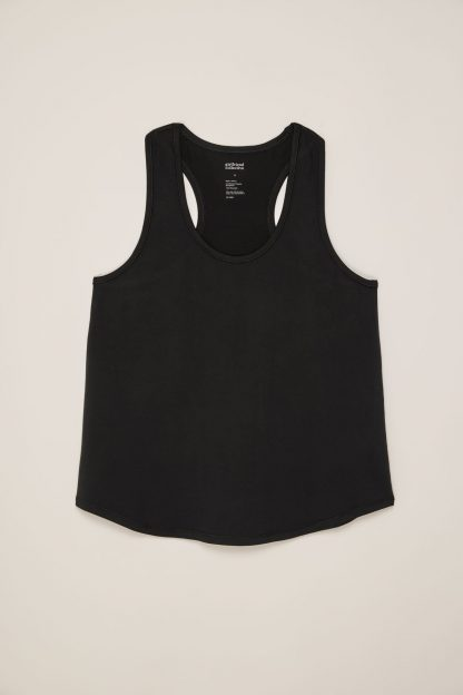 Black Train Relaxed Tank