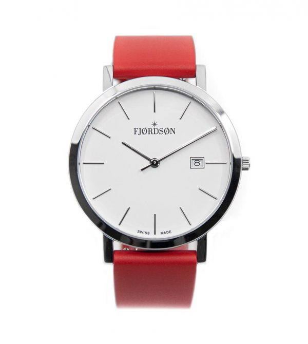 #9142 | Silver/White – Red Rubber