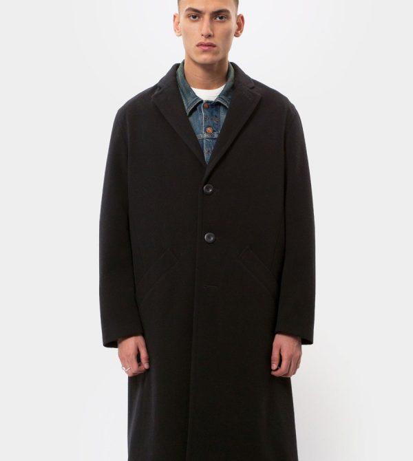 Ruben Wool Coat Black