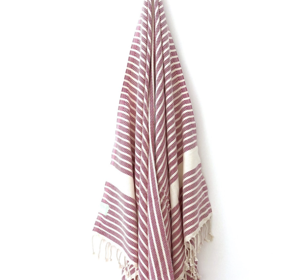Berry Hammam Towel from My Luxe