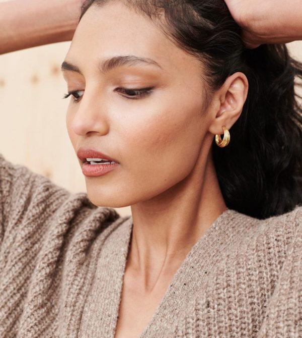 Large Blondeau Hoops – Gold | Jenni Kayne