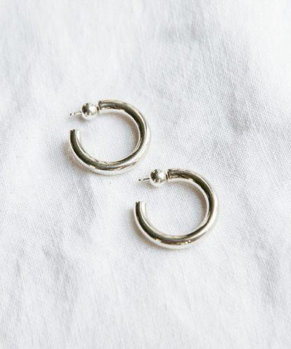 Small Everyday Hoops - Silver | Jenni Kayne