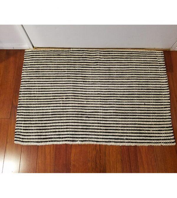 Sowders Stripes 36 in. x 24 in. Indoor Only Door Mat