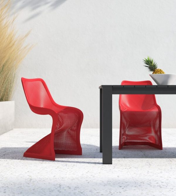 Stacking Patio Dining Side Chair
