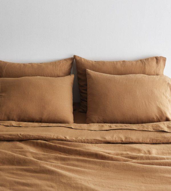 Stonewashed Linen Bed Bundle