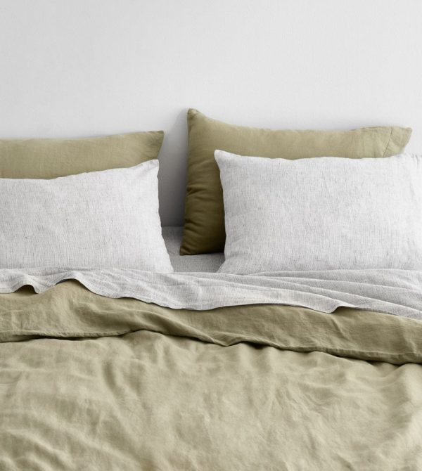 Stonewashed Linen Bed Bundle (Grove Series)