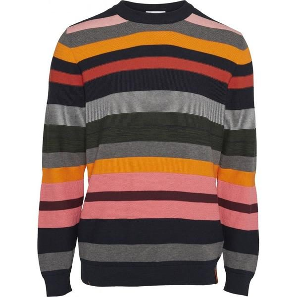 Knowledge Cotton Apparel Organic Striped Knit