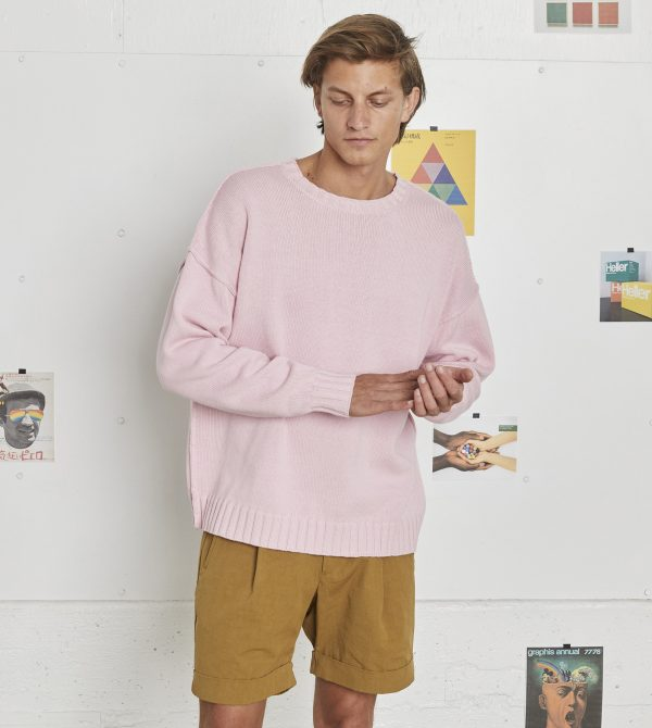 Sweater Men's – Pink