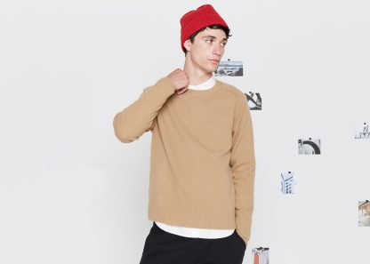 Entireworld  → Men → Sweater. Men's. Type A, Version 6. Camel.