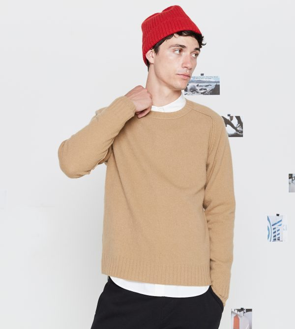 Just A Perfect Wool Crew Is All – Sweater