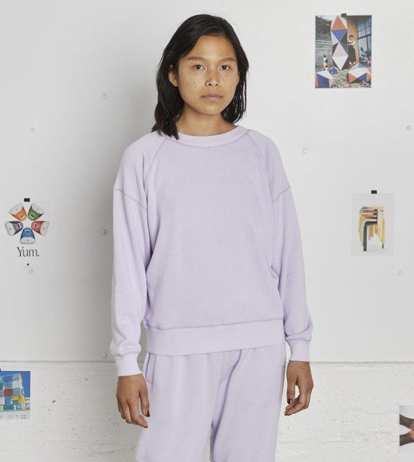 Loop-Back Sweatshirt (Lilac)
