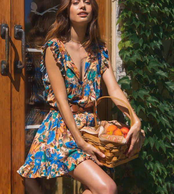 Zofia Sleeveless Top – Tamga designs