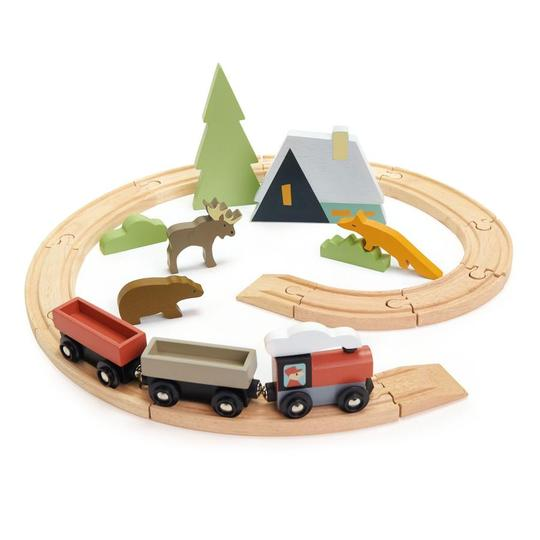 Treetops Wooden Train Set