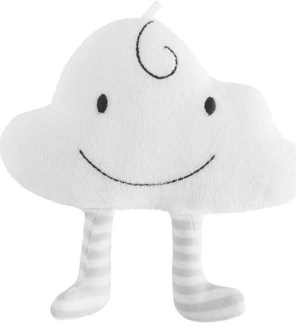 Organic Cotton Baby Toy – Happy the Cloud