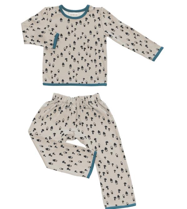 Kids Pyjamas Mushrooms